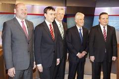 kandydaci polityczni zdjęcie stock