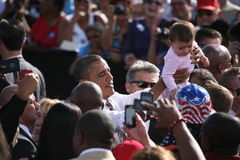 Kandyday Na Prezydenta Barack Obama Fotografia Stock