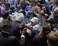 Kandyday Na Prezydenta Bernie Sanders gospodarzi Prezydencki Campaig Obraz Royalty Free
