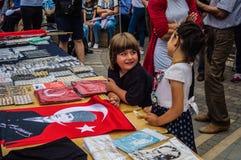 Kandydowanie Na Prezydenta Muharrem Ince społeczeństwa wiec W Yalova mieście - Turcja obrazy stock