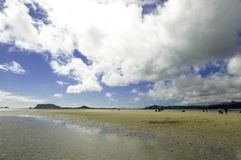 Kane'ohe Bay sand bar Stock Images
