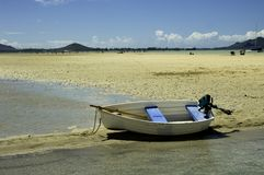 Kane'ohe Bay sand bar Royalty Free Stock Photos