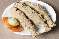 Kane Rava Fish Fry from Mangalore Stock Image