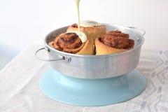 Kaneel broodje-broodjes Royalty-vrije Stock Afbeelding