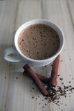 Kaneelkoffie Stock Afbeelding