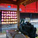 Kaneiji är Tendai en buddistisk tempel i Tokyo royaltyfri fotografi