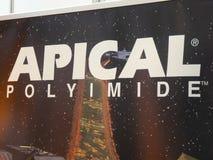Kaneka polyimides filmów firmy Apical logo ilustracji