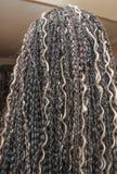 Kanekalon hair black Stock Photography