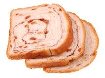 kanelbrun swirl för bröd Arkivfoton