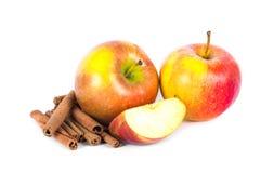 kanelbruna äpplen Royaltyfri Foto