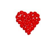 kanelbruna hjärtor Royaltyfri Fotografi