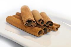 kanelbruna kryddor Royaltyfri Foto