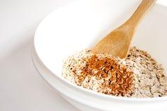 kanelbruna oats arkivfoto