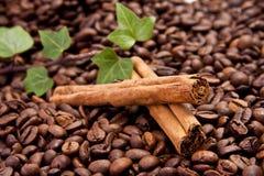 kanelbrunt kaffe Royaltyfri Fotografi