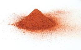 kanelbrunt pulver Royaltyfria Bilder