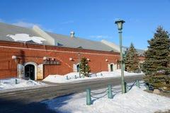 Kanemori Red Brick Warehouse in Hakodate, Hokkaido Stock Photos