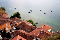 Kaneo, Ohrid, Macedonia Royalty Free Stock Photography