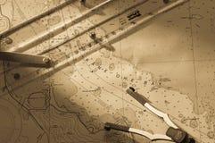 kaneohe диаграммы залива Стоковые Изображения RF