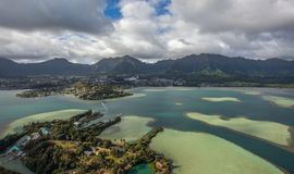 Kaneohe Bay, Oahu, Hawaii. This is Beautiful Kaneohe Bay on the Island Of Oahu in Hawaii royalty free stock photography