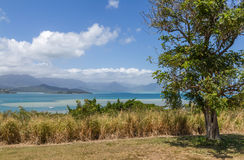 Kaneohe bay Oahu Hawaii. A view of Kaneohe bay on the east side of Oahu Hawaii USA Royalty Free Stock Image