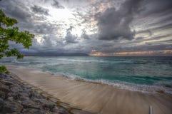 Kaneohe marinkorpralgrund Hawaii Arkivfoto