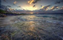 Kaneohe marinkorpralgrund Hawaii Arkivfoton