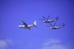 Kaneohe Podpalany Airshow Hawaje 2012 Obraz Royalty Free
