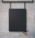 Kanfas på väggen Arkivfoto