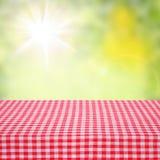 Kanfastextur eller bakgrund på tabellen Hösten landskap arkivfoton