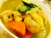 Kang Keaw Warn Chicken. Thai Food Delicious Royalty Free Stock Photography