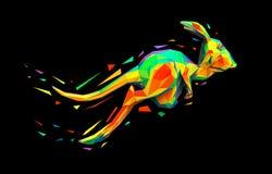 Kangaroo vector illustration
