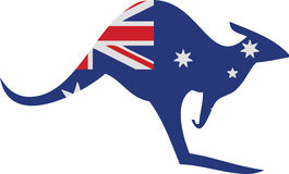 Kangaroo Australia Royalty Free Illustration