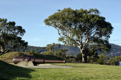 Kangaroo Bluff Battery, Bellerive, Hobart ,Tasmani Royalty Free Stock Image