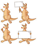 Kangaroo Cartoon Royalty Free Stock Photo