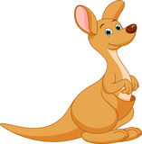 Kangaroo cartoon Royalty Free Stock Image