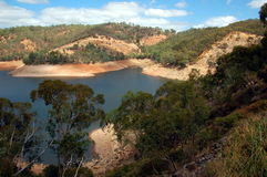 Kangaroo Creek Reservoir, South Australia. Stock Photography