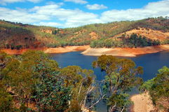 Kangaroo Creek Reservoir, South Australia. Royalty Free Stock Image