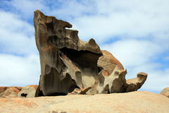 Kangaroo Island, Australia. The remarkable rocks. Kangaroo Island is Australia's third-largest island, after Tasmania and Melville Island. It lies in the state royalty free stock photography