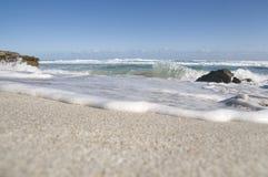 Kangaroo Island Beach. Macro view of the sea shore and beach Royalty Free Stock Images