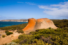 Kangaroo Island, South Australia. Rock formation on Kangaroo Island, South Australia Royalty Free Stock Image