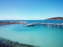 Kangaroo Island Wharf, Australia Stock Photography