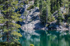 Kangaroo Lake. A photo of a mountain lake in Northern California with clear blue water Stock Photography