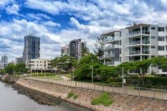 Kangaroo Point in Brisbane Royalty Free Stock Photography