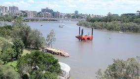 Kangaroo Pt Cliffs Precinct stock video