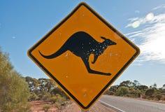 Kangaroo signal royalty free stock photo