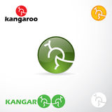 Kangaroo signs Stock Image