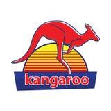 Kangaroo. Vector logo. icon symbol. Stock Photos