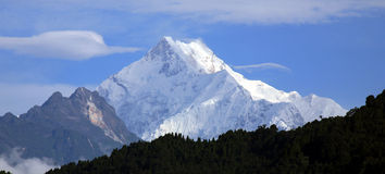 Kangchenjunga Photo libre de droits
