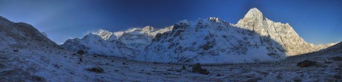 Kangchenjunga fotografia stock libera da diritti