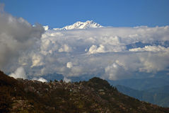 Kangchenjunga, Darjeeling, West Bengal, India Royalty Free Stock Image